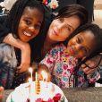 Charlize Theron partage des photos de ses filles Jackson et August sur Instagram, le 26 septembre 2020.