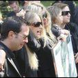 La douleur est vive pendant les  obsèques de Filip Nikolic (Sainte Geneviève des Bois, 24 septembre 2009)