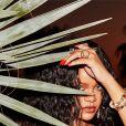 """Rihanna s'affiche pour la campagne de publicité de la collection été 2020 de sa marque de lingerie """"Savage x Fenty"""". Los Angeles. Le 1er juillet 2020."""