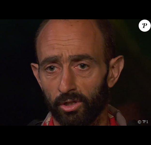 "Sébastien dans ""Koh-Lanta, Les 4 Terres"" sur TF1."