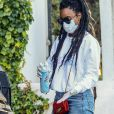 Exclusif - Kelly Rowland va faire quelques courses chez Erewhon à Santa Monica le 26 mai 2020.