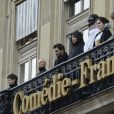 Image de la Comedie Francaise à Paris. Photo by David Niviere/ABACAPRESS.COM