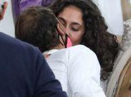 Rafael Nadal : Baisers à sa femme Maria Francisca Perello, après sa grande victoire