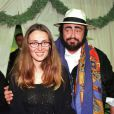Nicoletta Mantovani et Luciano Pavarotti