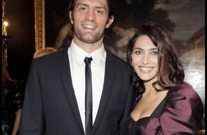 Caterina Murino et son rugbyman chéri officialisent leur amour... devant une ribambelle d'it-girls !