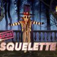 """Le Squelette, émission """"Mask Singer"""" du 17 octobre 2020."""