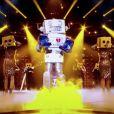 "Le Robot, émission ""Mask Singer"" du 17 octobre 2020."