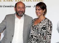 Kad Merad et Julia Vignali amoureux complices au Festival du film Lumière