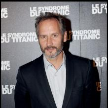 Hippolyte Girardot lors de la projection du Syndrome du Titanic à Paris le 28 septembre 2009