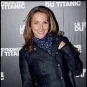Mélissa Theuriau, une beauté d'une élégante simplicité... soutient Nicolas Hulot avec Anne-sophie Lapix et Jacques Chirac !