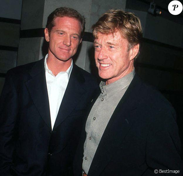 Robert et son fils James Reford à la première de The Kindness of strangers à New York.