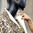 """Exclusif - La créatrice Valérie Messika assiste à la présentation de la nouvelle collection de Haute Joaillerie """"Valérie Messika by Kate Moss"""" à l'hôtel de Crillon à Paris, lors de la fashion week. Le 5 octobre 2020. © Veeren / Bestimage"""