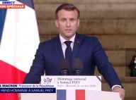 Hommage à Samuel Paty : Édouard Philippe, François Hollande... Emotion autour du président