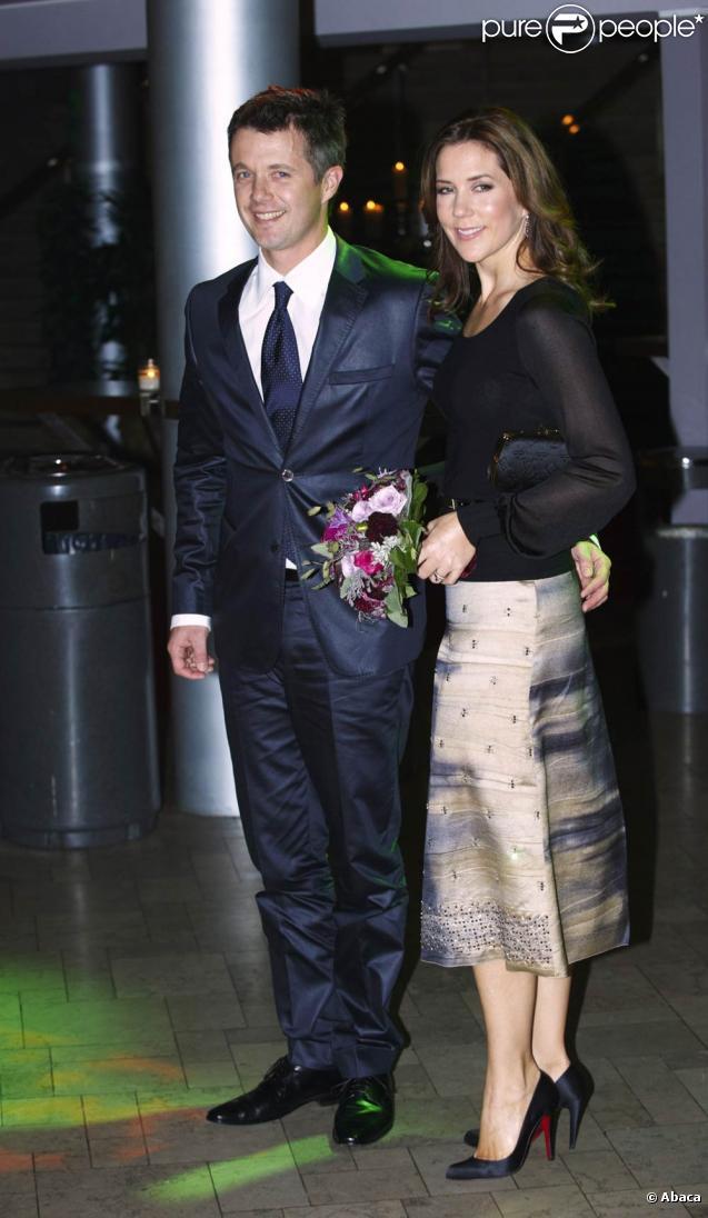 Mary et Frederik de Danemark ont assisté à la projection de Ved Verdens Ende à Copenhague, le 28 septembre 2009