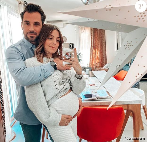 Alexia Mori est enceinte de son troisième enfant.