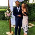 Mohamed Bouhafsi, journaliste sportif spéciale dans le football, présente sa compagne la belle Angeline.