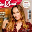 """Vanessa Demouy en couverture du nouveau magazine """"Nous Deux"""""""