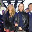 David et Cathy Guetta - soiree pour le Salon de l'automobile 2012 a Paris le 27 septembre 2012