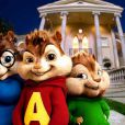 "Les chipmunks chantent ""Bad Day"""