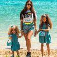 Alexandra (Koh-Lanta, Les 4 Terres) sur Instagram avec ses filles