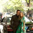 Chris Noth et Sarah Jessica Parker dans  Sex and the City .