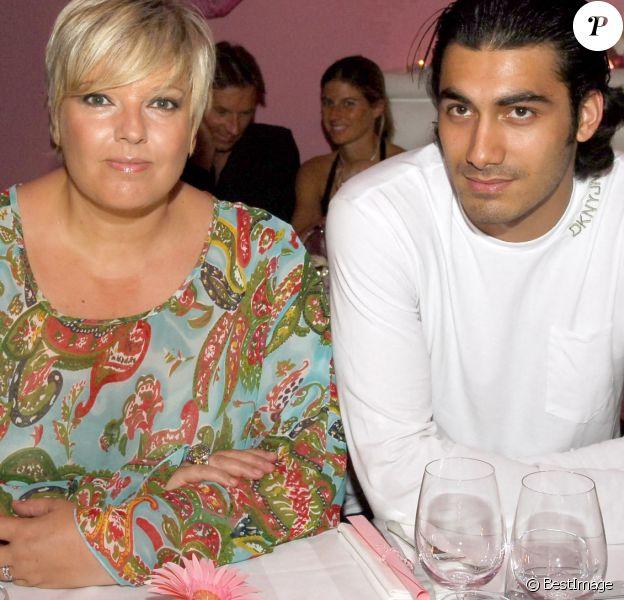 Laurence Boccolini avec son mari Mickaël Fakaïlo à l'anniversaire de Cathy Guetta, à la suite
