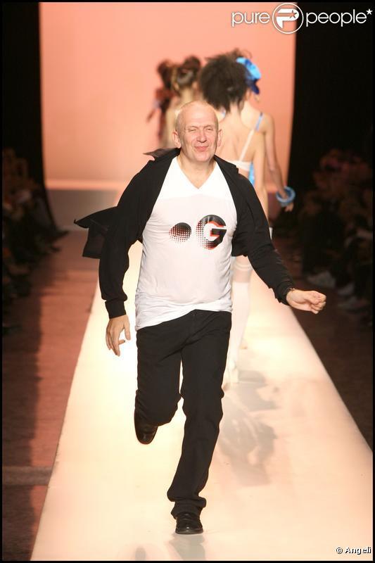 Défilé Jean-Paul Gaultier à Paris, le 3 octobre 2009