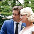 Exclusif - Mariage de Katrina Patchett et Valentin D'Hoore à la mairie de Linselles dans les Hauts-de-France © Philippe Doignon/Bestimage