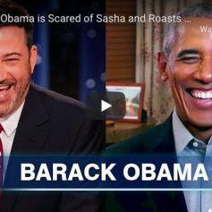 Barack Obama dans le talk-show de Jimmy Kimmel, le 19 novembre 2020.