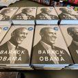 """Le nouveau livre de l'ancien président Barack Obama, """"A Promised Land"""", a été mis en vente avec une réduction de 10% à la date de sortie, le mardi 17 novembre 2020, à la librairie Barnes & Noble du village de Mount Pleasant , Wisconsin."""