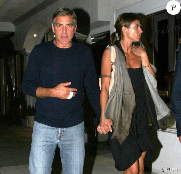 George Clooney et Elisabetta Canalis à Malibu