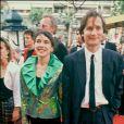 Archives - Hippolyte Girardot et Isabel Otero au Festival de Cannes. 1990.