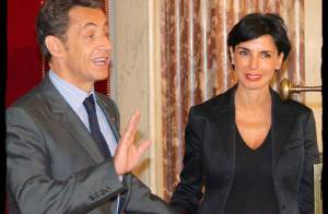 Rachida Dati est toujours la copine de Nicolas Sarkozy ! La preuve...