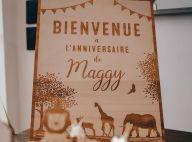 Alizée et Grégoire Lyonnet, les 1 an de leur fille Maggy : photos du bel l'anniversaire avec Annily