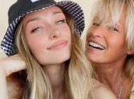 Estelle Lefébure : Complice avec sa fille Emma pour un après-midi en terrasse