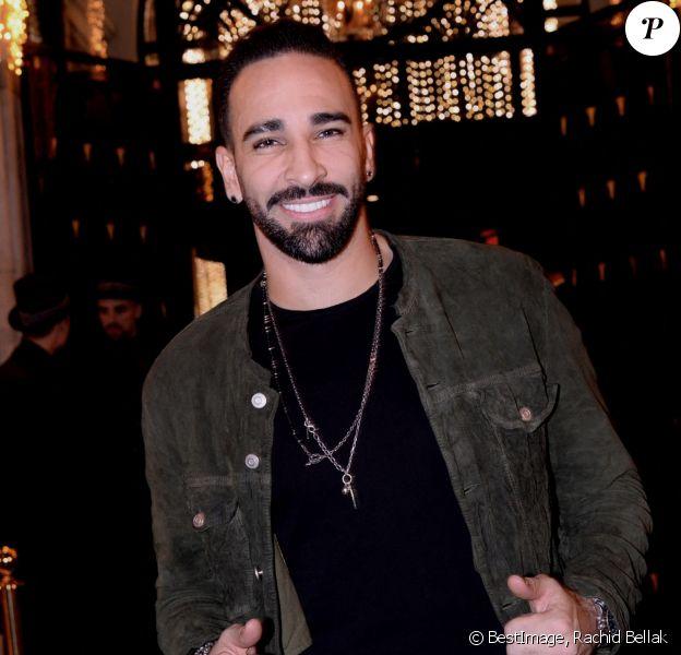 Exclusif - Adil Rami - 20ème anniversaire de l'hôtel Four Seasons Hotel George V à Paris, le 7 décembre 2019. © Rachid Bellak/Bestimage