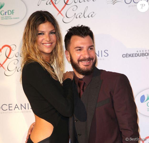 """Michaël Youn et sa compagne Isabelle Funaro - Personnalités au gala """"Par Coeur"""" pour les 10 ans de l'association """"Cekedubonheur"""" au pavillon d'Armenonville à Paris."""