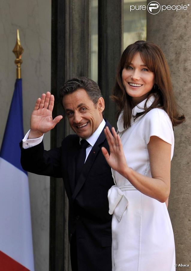 nicolas sarkozy carla bruni. Nicolas Sarkozy et sa femme