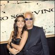 Flavio Briatore et sa femme Elisabetta Gregoraci