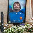 Illustration - Obsèques du rugbyman Christophe Dominici en l'église Saint-Louis de Hyères le 4 décembre 2020 © Patrick Carpentier / Bestimage