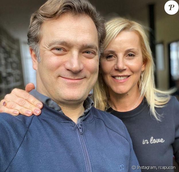 Renaud Capuçon et son épouse Laurence Ferrari sur Instagram, décembre 2020.