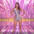 Iris Mittenaere lors de l'élection de Miss France 2021, le 19 décembre 2020 sur TF1