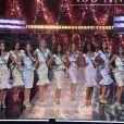 Les 29 Miss régionales en top et jupe midi sur le thème de la gourmandise - élection de Miss France 2021 du 19 décembre sur TF1
