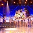 Les Miss font le show - lors du défilé en maillot de bain, lors de l'élection Miss France 2021 le 19 décembre 2020 sur TF1