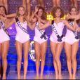 Défilé en maillot de bain, lors de l'élection Miss France 2021 le 19 décembre 2020 sur TF1