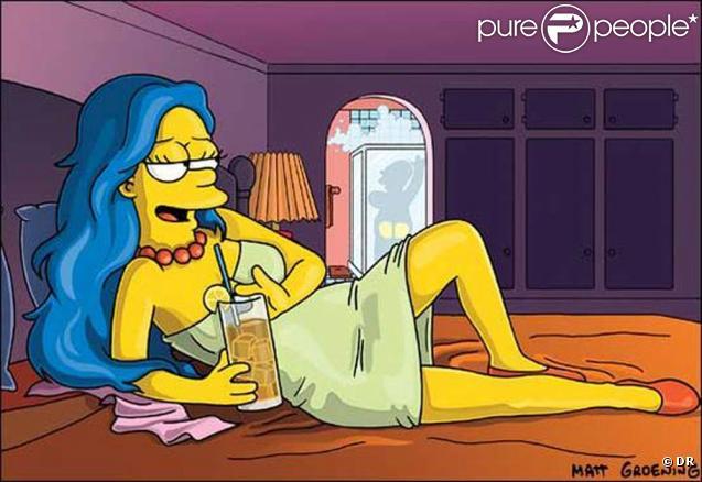 Marge Simpson très grrr... grrr...