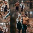 """Vivien et Charline de """"Mariés au premier regard 2019"""" lors d'un shooting photos"""