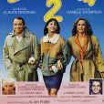 """Affiche du film """"La Boum 2"""" avec Claude Brasseur, Sophie Marceau et Brigitte Fossey."""