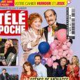"""Couverture de """"Télé Poche"""" du 4 janvier 2021"""