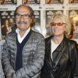 """Exclusif - Gérard Hernandez et sa femme Micheline - 100éme de la pièce """"Le Systême"""" au théâtre Antoine à Paris le 21 mai 2015."""